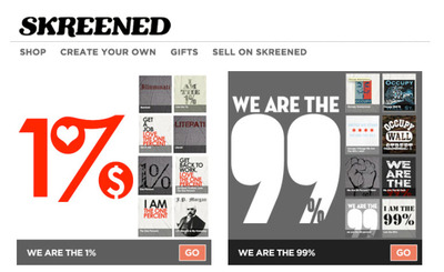 Ethical Fashion Companies on Ethical Screenprinting Company Represents Both The One And The 99